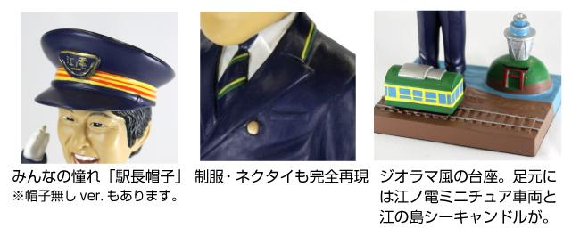 写真を送るだけで!!写真から作る「江ノ電マイフィギュア」。あなたが江ノ電の駅長に!